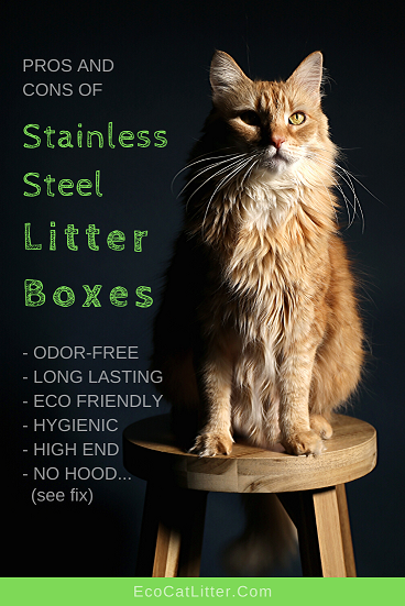 Pros and cons of stainless steel litter boxes